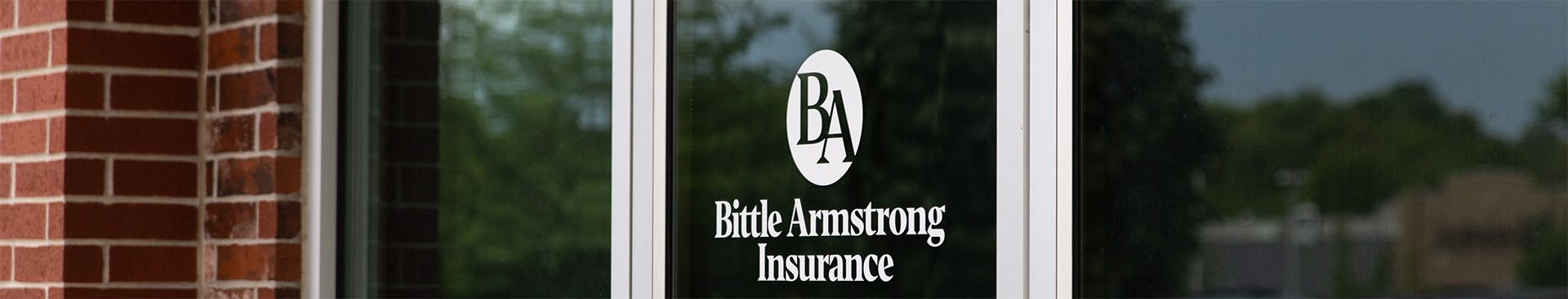 Bittle Armstrong Insurance front door logo